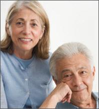 Elder wife and husband